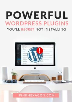 Powerful wordpress plugins you'll regret not installing from the beginning. These plugins solve some major WordPress flaws that most people don't know they need to address. ... WordPress | WordPress Plugins | Essential WordPress Plugins | Most Important W