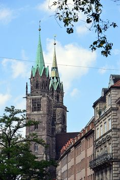 https://flic.kr/p/PbuyGV | Nürnberg (Deutschland) - Königstrasse - Lorenzkirche - 1 | Pictures by Björn Roose. Taken in Nürnberg (Deutschland) in August 2016.