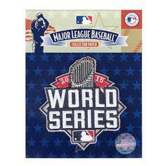 2015 MLB Official World Series Logo Jersey Sleeve Patch New York Mets Kansas City Royals