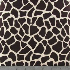 Ivory & Brown Giraffe Fabric | Shop Hobby Lobby