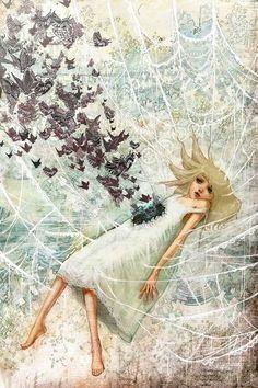 Silk Cocoon by Yuko Rabbit