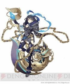 View an image titled 'Alice, Crusher Job Art' in our SINoALICE art gallery featuring official character designs, concept art, and promo pictures. Female Character Design, Character Modeling, Character Design Inspiration, Character Concept, Character Art, Fantasy Characters, Female Characters, Anime Characters, Anime Weapons