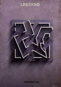 Galería de Las ilustraciones ARCHIPLAN de Federico Babina analizan las plantas de célebres arquitectos - 20