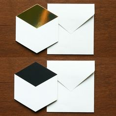 Limited edition geometric Birthday cards