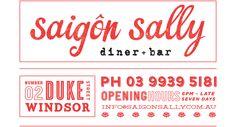 Saigon Sally - 2 duke street windsor 9939 5181