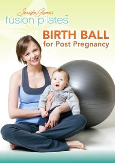 Fusion Pilates Birth Ball for Post Pregnancy