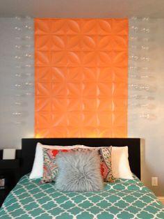 Teen room- feature wall