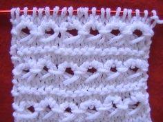 Como Tejer Punto Peruano Peruvian Stitch 2 Agujas (7)