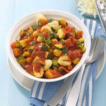 Gnocchi mit italienischem Gemüse