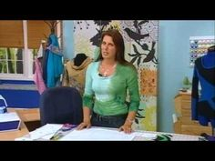 401-1 Angela Wolf shows how to make her signature color block top on It's Sew Easy