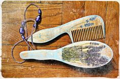 """set of combs """"Lavender"""""""