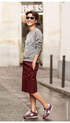"""Lejos de ser el típico color de uniforme de colegio, el """"burgundy"""" o granate es intenso, elegante y el preferido de todos este invierno (por más info: www.lacitadina.com.uy)"""