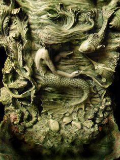 adrianxxx777: Kleine Meerjungfrau-Brunnen von Jasper Zimmer auf Flickr.