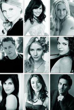 Jennifer Morrison (Emma), Ginnifer Goodwin (Snow), Jessy Schram (Cinderella), Josh Dallas (Charming), Emilie de Ravin (Belle), Lana Parrilla (Regina), Meghan Ory (Red), Sarah Bolger (Aurora),  Colin O'Donoghue (Hook)