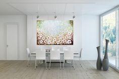 Öl Gemälde 'Cherry Blossoms' 180x120cm