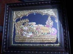 Tanjore Painting of MahaVishnu