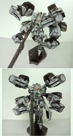 GUNDAM GUY: 1/144 Gundam Nadleeh - Custom Build