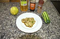 #Sunomomo ensalada #Japonesa de #pepino. #Receta al estilo de #LasRecetasdelHortelano