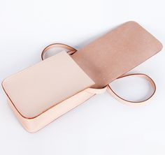 Charoussas SS2013 Light Pink Shoulder Bag #ModeWalk #luxury #fashion #Charoussas #bag