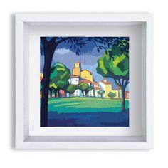 Ref. P0017 (Sant Pol de Mar) Medidas marco 16x16x3 cm
