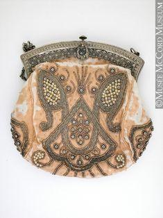 Evening bag, France 1900-1910