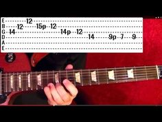 While My Guitar Gently Weeps Solo by THE BEATLES - Guitar Lesson - George Harrison - Paul McCartney - YouTube