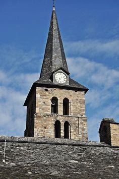 Iglesia de L'assumpció-Bossòst,Vall d' Aran  Lleida Catalonia