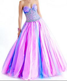 really cute purple pink and blue dress!!!!!! <3