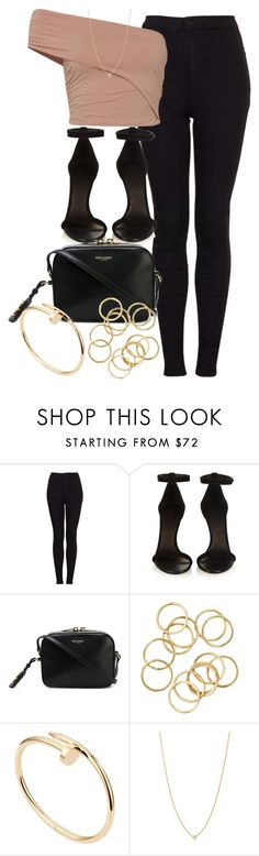 """""""Style #9993"""" by vany-alvarado ❤ liked on Polyvore featuring Topshop, Fuji, Isabel Marant, Yves Saint Laurent, Cartier and Elsa Peretti"""
