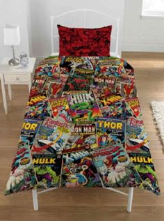 Marvel Comics Bedding.....is there an age limit?:)