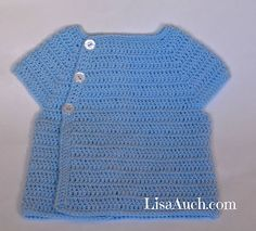 this was a reader request for a larger sized pattern to the Baby Bear newborn cardigan
