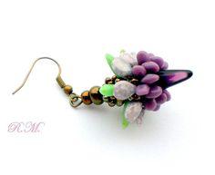by Růžena Mikulová Beadwork, Beading, Spikes, Beaded Earrings, Jewelry, Earrings, Cnd Nails, Beads, Jewlery