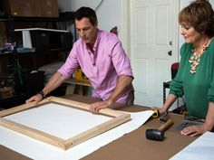Home & Family - Tips & Products - Mark Stretches Photographs Over Canvas | Hallmark Channel