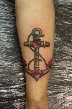 Tatuagens de âncoras (36)