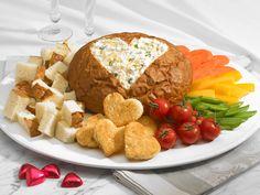 Garlic Artichoke Cheese Dip (try this w/ roasted garlic instead)
