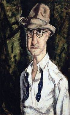 Self-portrait, Alfred Henry Mauer