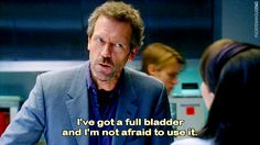 Dr. Gregory House, Hugh Laurie  #housemd