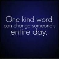 Yes. It is true, it can. Make it a habit to be kind. You will be glad that you did.