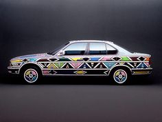 s 1991     artist: Esther Mahlangu   car: BMW E34 525i                                           i 11http://www.bmwism.com/artcars/art%20ca9.jpg