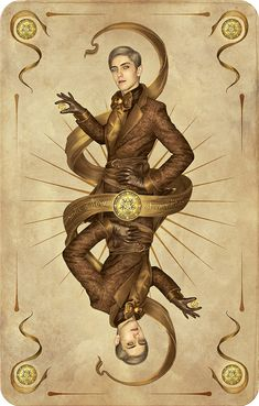 Jack of Diamonds_Pentacle card by *inSOLense on deviantART