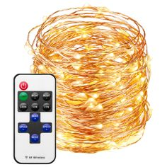 Cymas [Upgraded] LED String Lights, 200 LED Copper Wire Lights, Waterproof LED String Lights for Gardens, Patios, Lawn, Parties