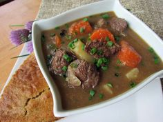 I challenge anyone who says they don't like bear meat to try this stew!