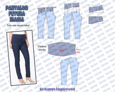 ea742dd44 15 mejores imágenes de Pantalones de maternidad