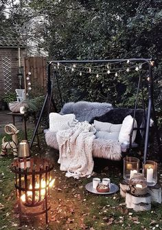💘 92 Awesome Porch Swing Ideas In Backyard - 7 Tips for Choosing the Perfect . 💘 92 Awesome Porch Swing Ideas In Backyard – 7 Tips for Choosing the Perfect Porch Swing for Your Backyard Paradise 6250 Backyard Swings, Patio Swing, Backyard Patio, Outdoor Swing Chair, Outdoor Rooms, Outdoor Gardens, Outdoor Living, Outdoor Decor, Outdoor Venues