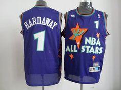 Adidas NBA Mitchell Ness Orlando Magic 1 Penny Hardaway 1995 All Star Swingman Jersey
