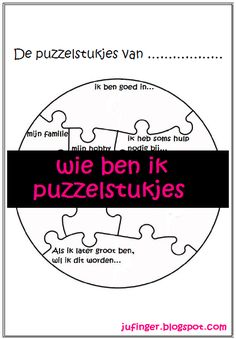 Miss Inger: Wer bin ich - Puzzleteile - Makeup For Eyes 1st Day Of School, Beginning Of The School Year, School Teacher, Primary School, Back To School, Coaching, Education World, Job Info, Mindfulness For Kids