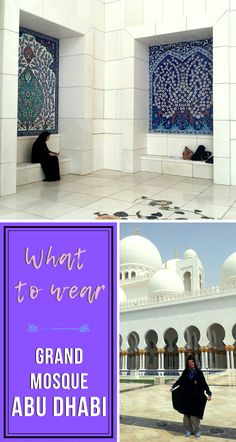 Make sure to gather some info before going to the Grand Mosque of Abu Dhabi. I thought I did and here is what happened. Dubai Travel, Asia Travel, Solo Travel, Vietnam Travel, Travel Abroad, Travel Guides, Travel Tips, Travel Advise, Oregon