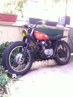 Go look at several of my most desired builds - custom scrambler builds like Tracker Motorcycle, Cafe Racer Motorcycle, Motorcycle Design, Bike Design, Small Motorcycles, Triumph Motorcycles, Vintage Motorcycles, Custom Motorcycles, Vespa Vintage