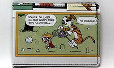 Vinyl Comic Book Wallet - Calvin and Hobbes Design 33