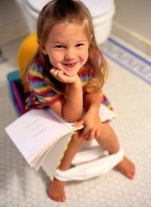 How to Potty Train Girls Age 2 -only a few more months to go